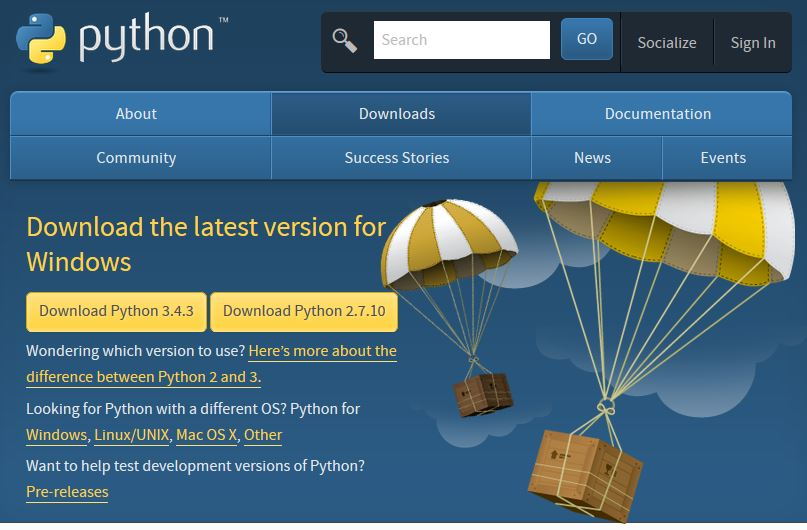 Installing Python and Notepad
